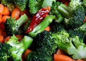 Steamed Vegetables with Dill Recipe