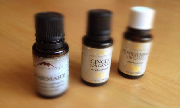 Calm and Focused Essential Oil Blend