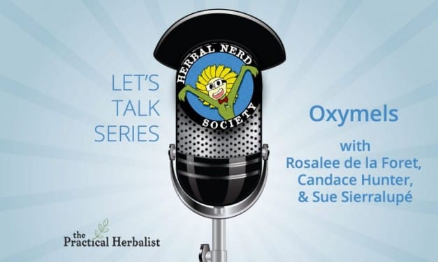 Let's Talk Series: Magic of Oxymels with Rosalee de la Forêt