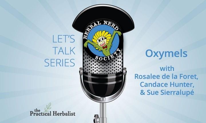 Let's Talk Series: Magic of Oxymels with Rosalee de la Forêt