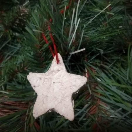 How to Make Seed Paper Ornaments – DIY