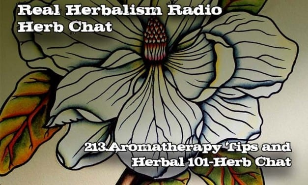 213.Aromatherapy Tips and Herbal 101-Herb Chat