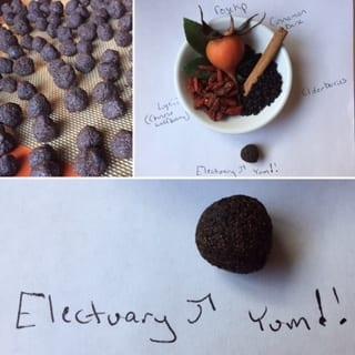 Elderberry Electuaries: Immune System Strengthening Treats