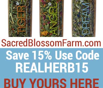 SacredBlossomFarm.com Save 15% Use Code REALHERB15 Buy Yours Here