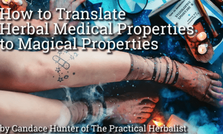 See Herbal Medical Uses as Magical Properties: Practical Magic for Herbalists