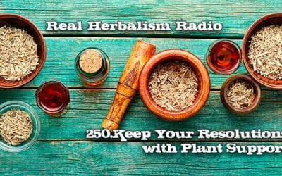 250.Keep Your Resolutions with Plant Support: 3 Key Herbal Actions