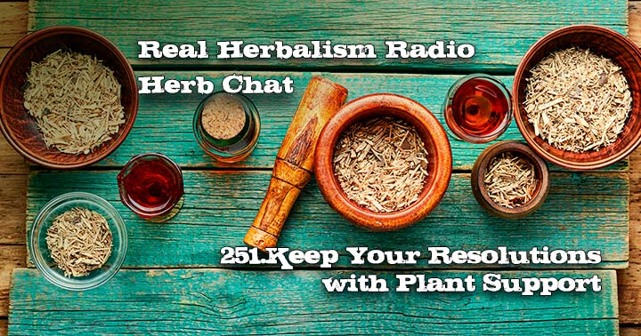251.3 Key Herbal Actions for Keeping Your Resolutions Herb Chat