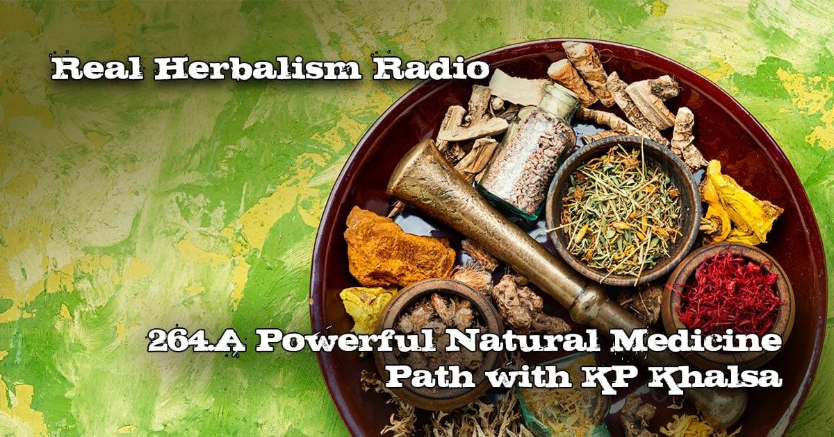 264.A Powerful Natural Medicine Path with KP Khalsa
