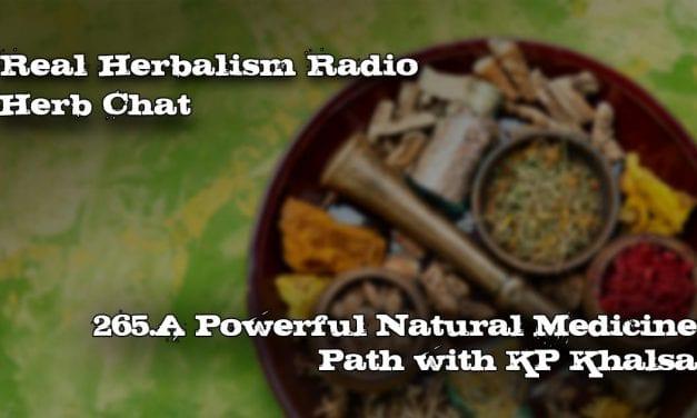 265.A Powerful Natural Medicine Path with KP Khalsa-Herb Chat