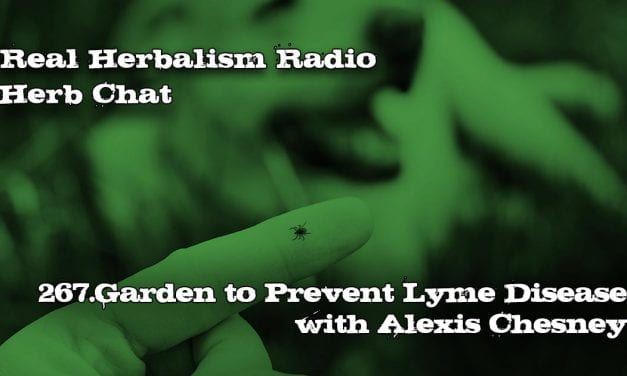 267.Garden to Prevent Lyme Disease with Alexis Chesney Herb Chat