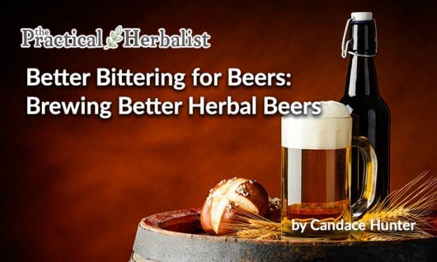 Better Bittering for Beers: Brewing Better Herbal Beers