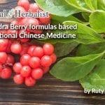 Schizandra Berry formulas based on Traditional Chinese Medicine