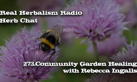 273.Community Garden Healing with Rebecca Ingalls-Herb Chat